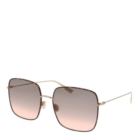 Dior Women's Havana Gold Dior Sunglasses 59mm