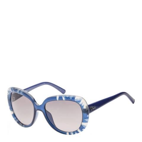 Dior Women's Blue Dior Sunglasses 56mm