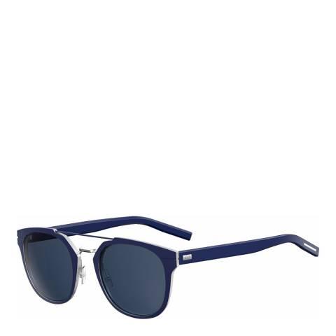 Dior Women's Navy/Silver Dior Sunglasses 52mm