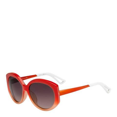 Dior Women's Orange Dior Sunglasses 58mm