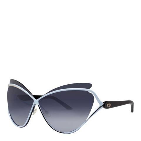 Dior Women's Blue/Black Dior Sunglasses 72mm
