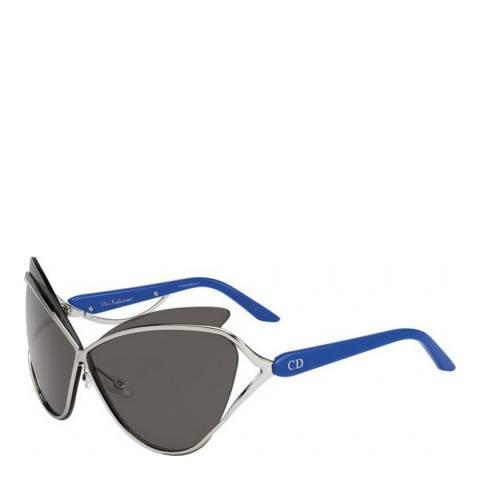 Dior Women's Blue/Silver Dior Sunglasses 72mm