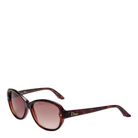 Dior Women's Brown Havana Dior Sunglasses 53mm