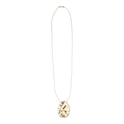 Hobbs London Gold Emma Pendant Necklace