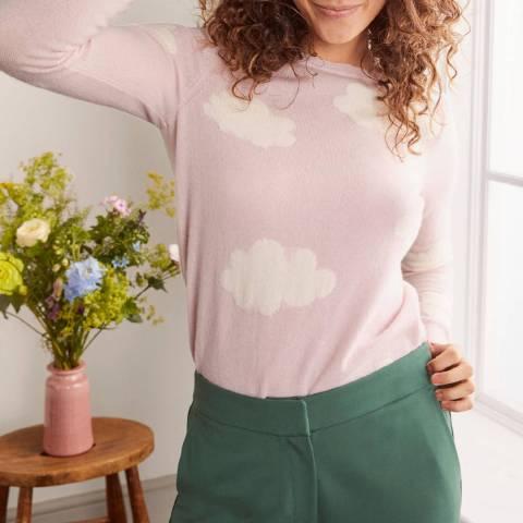 Boden Pink Cloud Cashmere Jumper