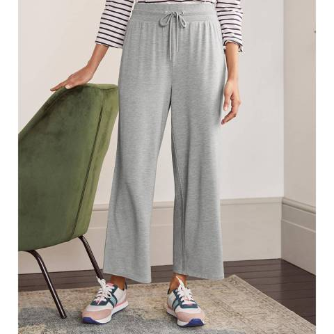 Boden Grey Emma Cropped Joggers