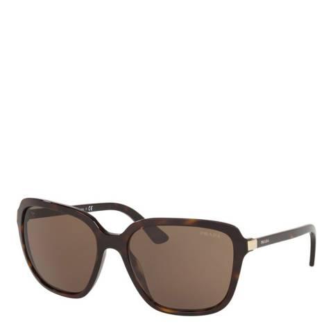 Prada Women's Brown Sunglasses 60mm