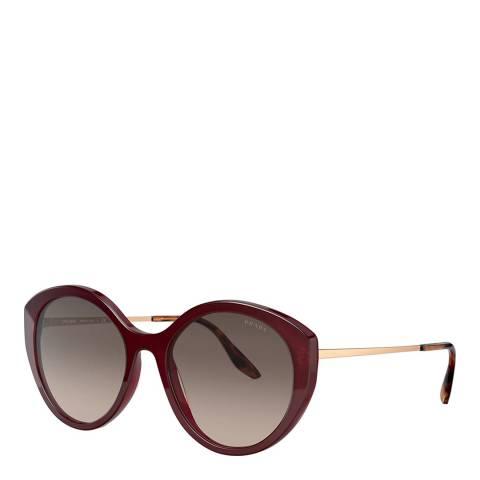 Prada Women's Brown Sunglasses 55mm