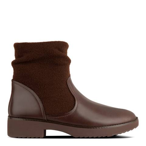 FitFlop Chocolate Nisse Mixte Ankle Boots