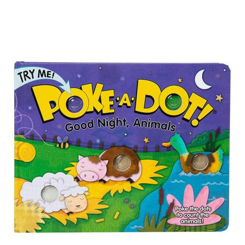 Melissa and Doug Poke-A-Dot Good Night  Animals