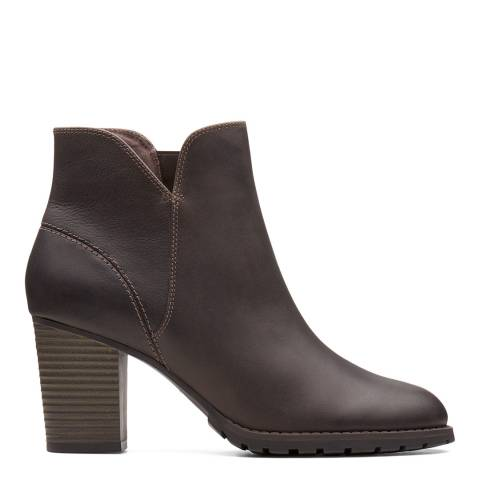 Clarks Verona Trish Taupe Leather