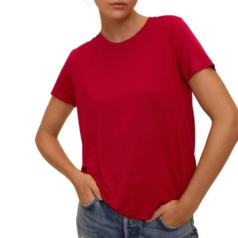Mango Red Short Sleeve T-Shirt