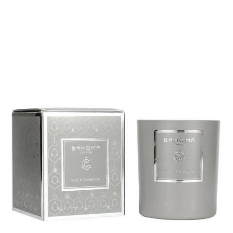 Bahoma Ash Sage/Rosemary Fragranced 3 Wick Candle