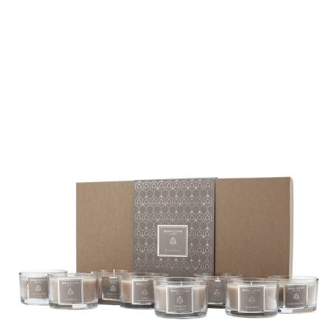 Bahoma Sand Discovery Set of 8 Travel Candles