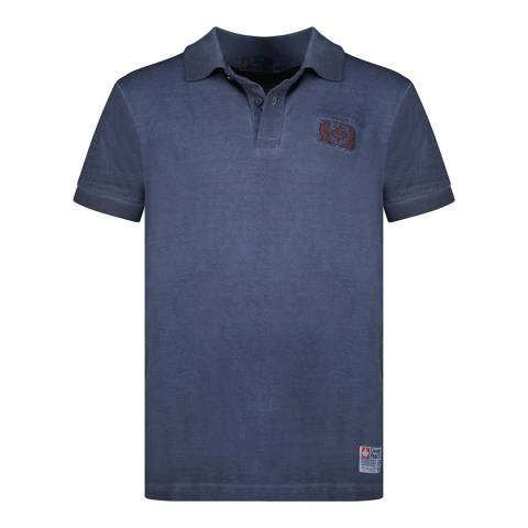 Canadian Peak Navy Logo Polo Shirt