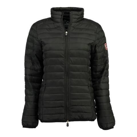 Canadian Peak Black Quilted Packaway Lightweight Jacket
