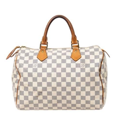 Louis Vuitton Ivory Speedy Handbag