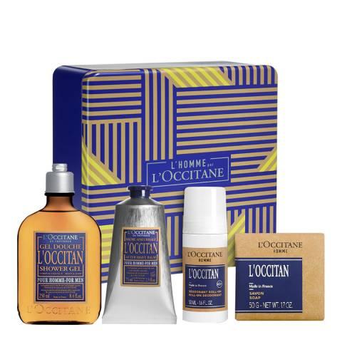 L'Occitane L'Occitane Mens Bodycare Kit Worth £68