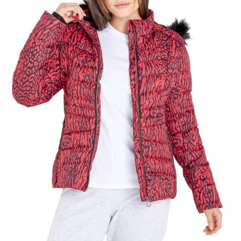 Dare2B Red Waterproof Ski Jacket