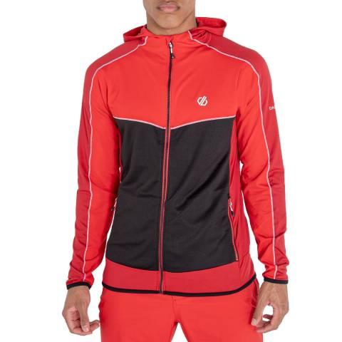 Dare2B Red/Black Full Zip Sweatshirt Hoodie