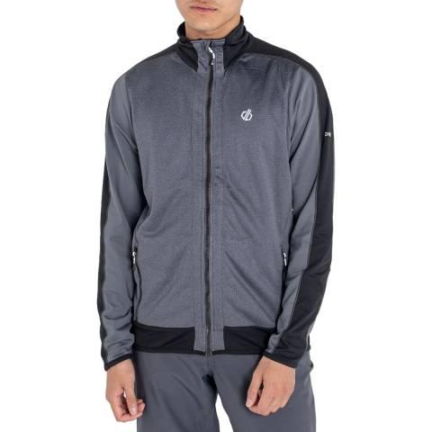 Dare2B Grey/Black Full Zip Sweatshirt
