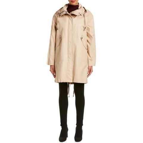 HELMUT LANG Sand Fur Parka Jacket