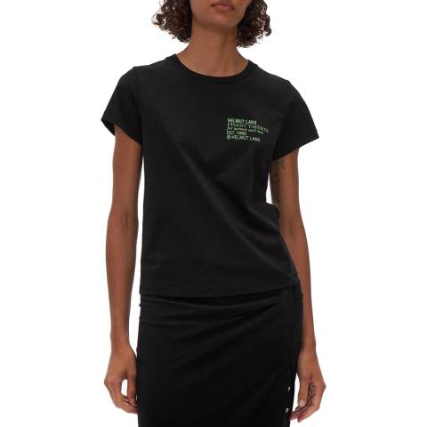 HELMUT LANG Black Baby Cotton T-Shirt