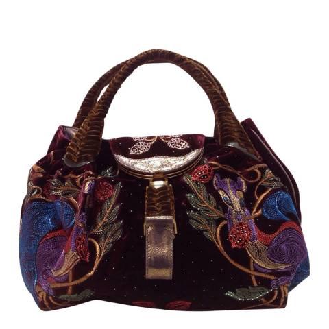 Fendi Bordeaux Fendi Handbag