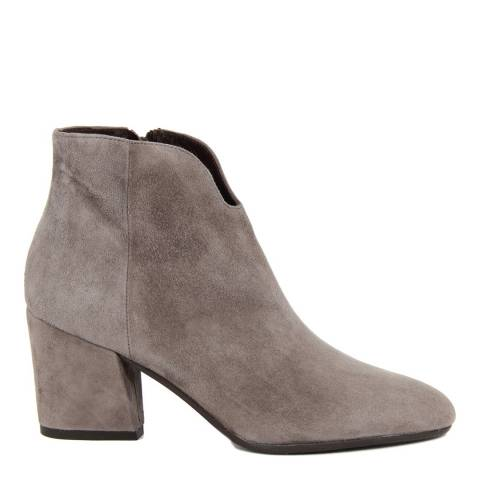 Cold-Out Brown Suede Ankle Boot