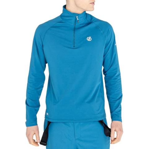 Regatta Blue Outdoor Half Zip Sweater