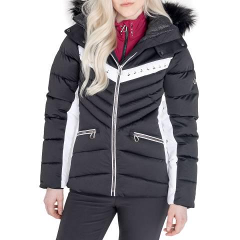 Dare2B Black/White Waterproof Insulated Ski Jacket