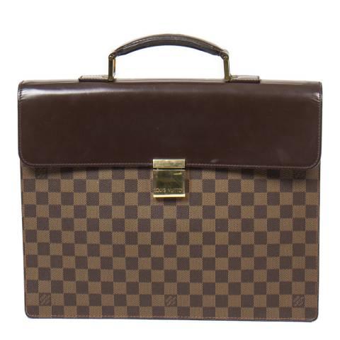 Louis Vuitton Brown Altona Briefcase