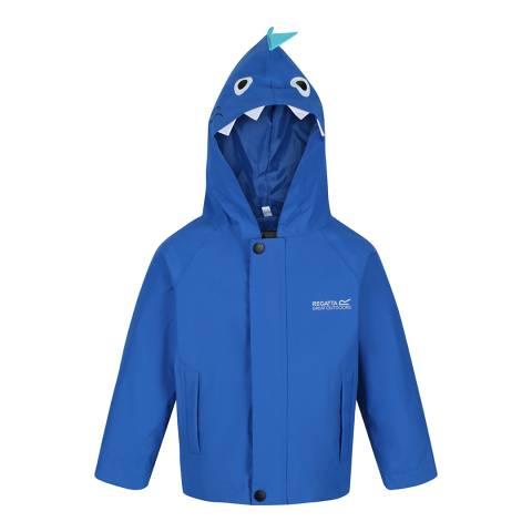 Regatta Blue Shark Animal Waterproof Shell Jacket