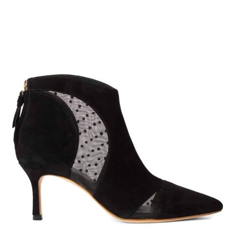 Hobbs London Black Suede Rhea Ankle Boots
