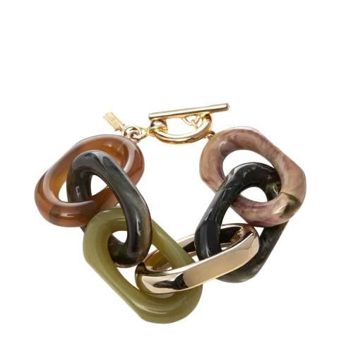 Hobbs London Green Gold Primrose Bracelet