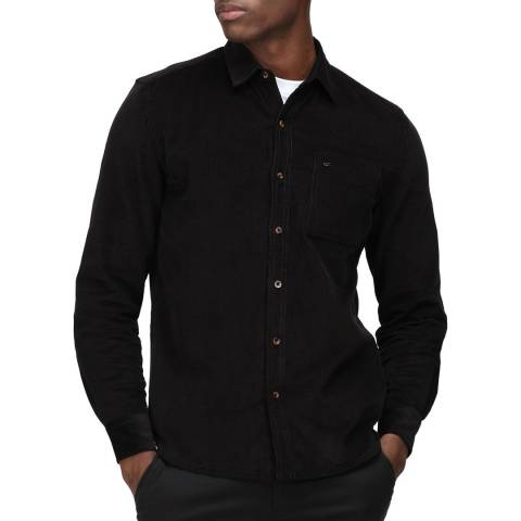 Regatta Black Cord Long Sleeved Shirt