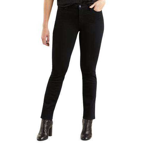 Levi's Black 712™ Stretch Slim Jeans