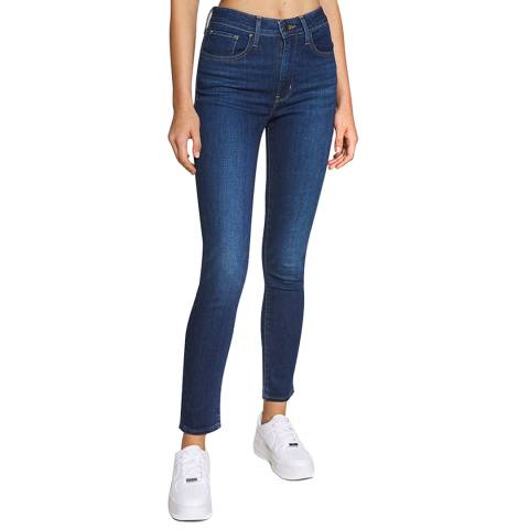 Levi's Navy 721™ High Rise Stretch Skinny Jeans