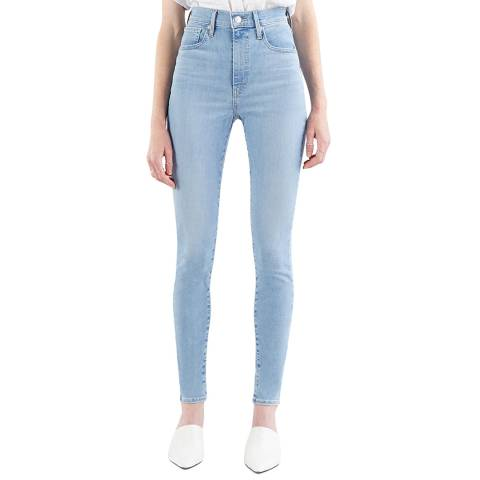 Levi's Light Blue Mile High Super Skinny Stretch Jeans