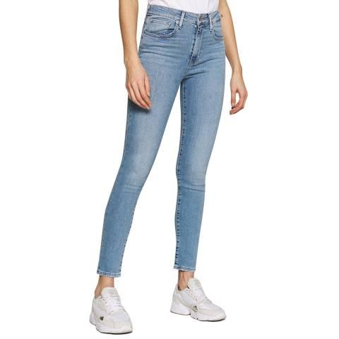 Levi's Light Blue 721™ High Rise Stretch Skinny Jeans