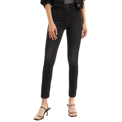 Levi's Black Wash 721™ High Rise Stretch Skinny Jeans