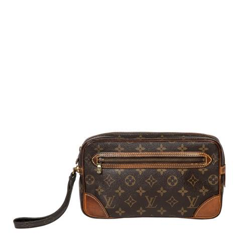 Louis Vuitton Brown Marly Dragone Pouch