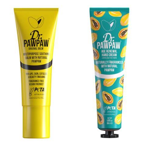 Dr PawPaw Hand Cream & Balm Duo
