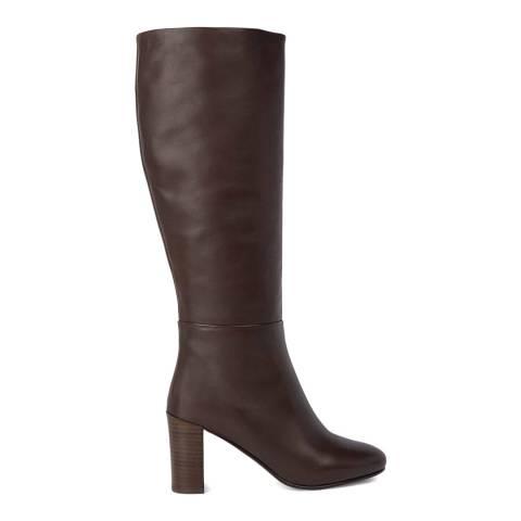 Hobbs London Dark Brown Anastasia Knee Boots