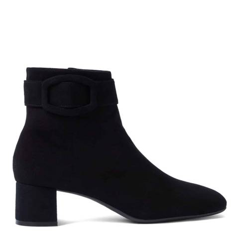 Hobbs London Black Suede Hailey Ankle Boots