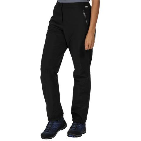 Regatta Black Waterproof Overtrousers