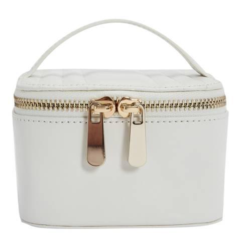 WOLF White Maria Zip Jewellery Cube