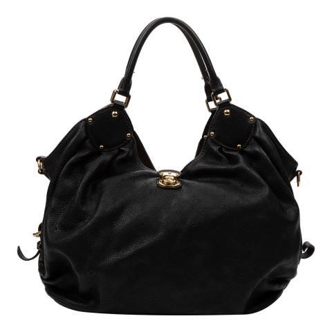 Louis Vuitton Black Hobo Shoulder Bag