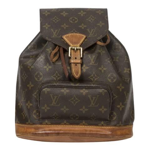 Louis Vuitton Brown Montsouris Shoulder Bag