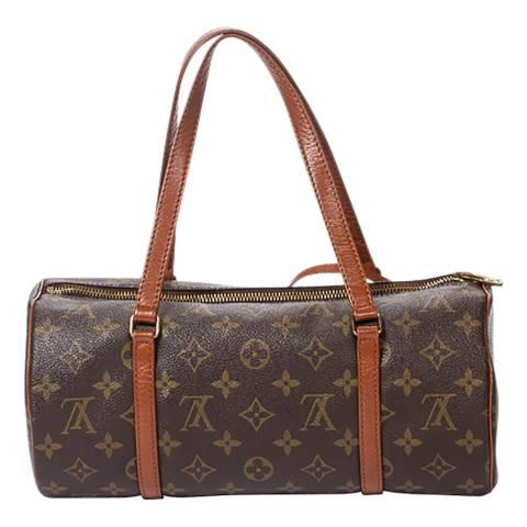 Louis Vuitton Brown Papillon Handbag